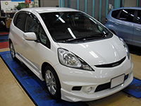 HONDA FIT RS GE8 5MT TYPE R 待ちに待った納車!