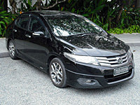 HONDA FIT RS GE8 5MT TYPE R シンガポールにて(2) HONDA CITY 特集